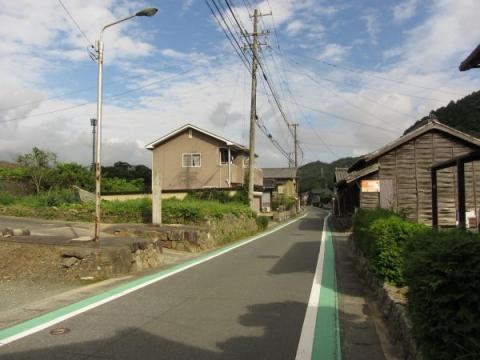 旧東海道 児子神社参道入口