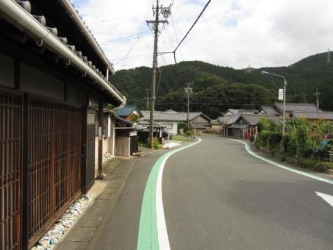 旧東海道 豊川市長沢町下市