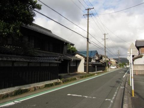旧東海道 長沢町向谷
