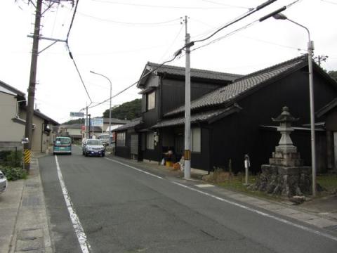 赤坂町西縄手の常夜灯