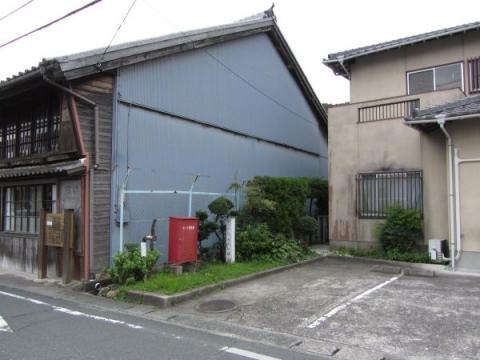 赤坂陣屋(神木屋敷)入口跡