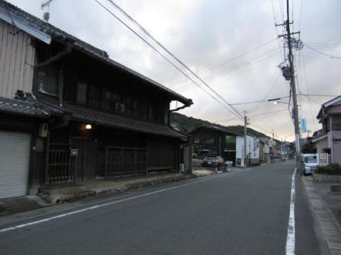 旧東海道 豊川市赤坂町紅里