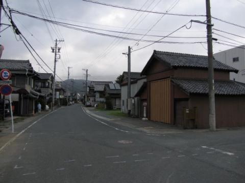 赤坂宿東の見附跡
