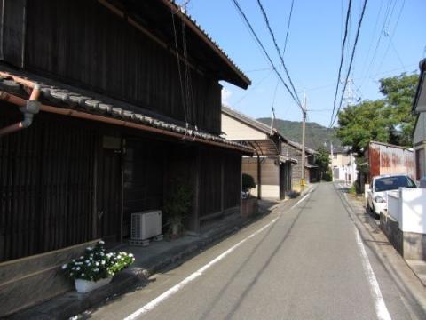 旧東海道 御油町美世賜(旧茶屋町)