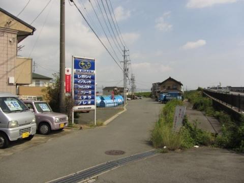 旧東海道 豊川市白鳥町