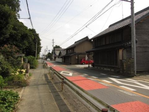 旧東海道 豊川市小田渕町02