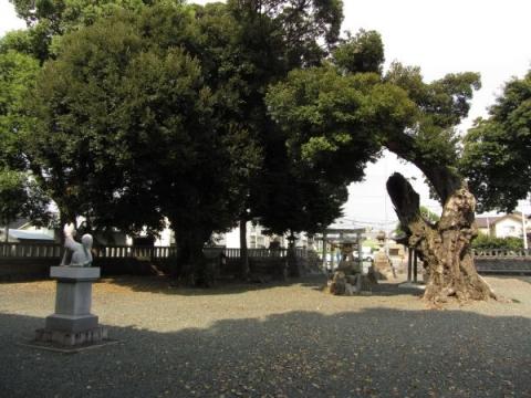 稲荷神社境内