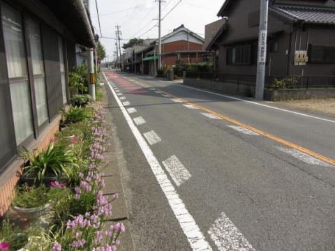旧東海道 豊川市桜町