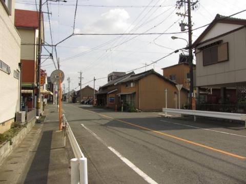 旧東海道 豊川市伊奈町新町畑