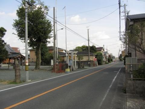 旧東海道 豊川市伊奈町茶屋