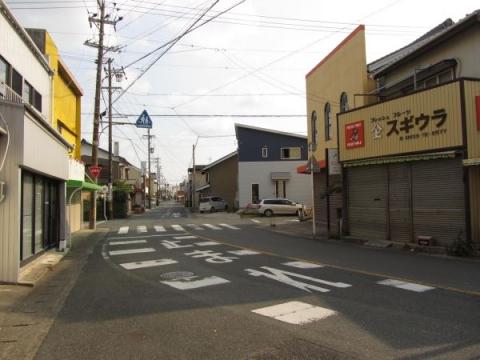 旧東海道・伊那街道の分岐点