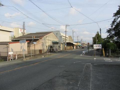 旧東海道 豊川市・豊橋市境