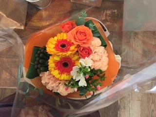 1周年お花⑥