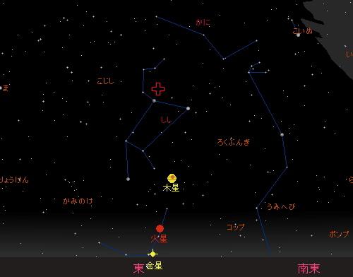 20151118 しし座流星群星図