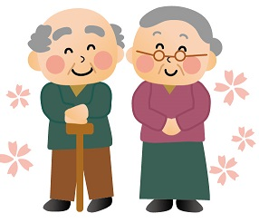 お年寄り夫婦