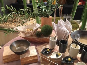 151009 京都テーブルウェアコレクション 森のテーブルコーディネート1