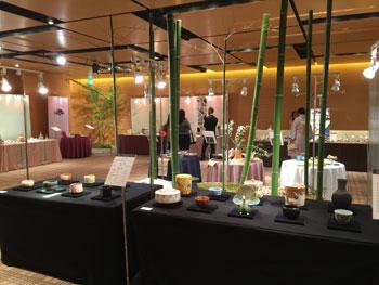 151009 京都テーブルウェアコレクション 森のテーブルコーディネート2