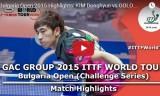 金東賢VSゴロバノフ(2回戦)ブルガリアオープン2015