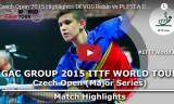 ドゥヴォスの試合(予選)チェコオープン2015