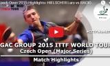 ヒルシャーの試合(予選) チェコオープン2015