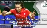 ゾルヤの試合(予選) チェコオープン2015