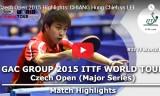 江宏傑VSライトゲプ(予選) チェコオープン2015
