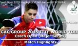 ツォンの試合(予選) チェコオープン2015