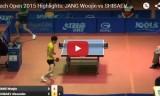 張禹珍VSシバエフ(1回戦) チェコオープン2015