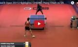 江宏傑VSサリフ(1回戦) チェコオープン2015