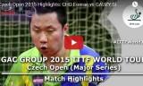 趙彦来VSゴーズィ(3回戦) チェコオープン2015