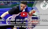 吉村真晴VSフレイタス(準決勝)チェコオープン2015