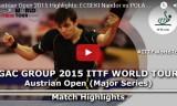トーマスの試合(予選)オーストリアオープン2015