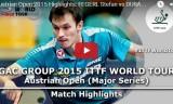 フェゲルルの試合(1回戦)オーストリアオープン2015