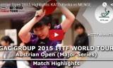 加藤杏華VSメンゲ(予選)オーストリアオープン2015