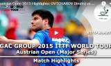 オフチャロフVS李平(3回戦)オーストリアオープン2015