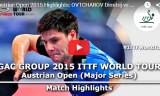 オフチャロフVSフィルス(準々決)オーストリアオープン2015