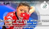 福原愛VSハンイン(準決勝)オーストリアオープン2015