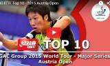 トップ10ショット(全般)オーストリアオープン2015