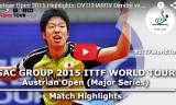 水谷隼VSオフチャロフ(決勝戦)オーストリアオープン2015