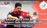 アラミヤンVSセーチ(準決)ベルギーオープン2015
