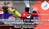 アラミヤンVSスディ(準決)ベルギーオープン2015