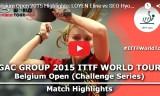 徐孝元の試合(2回戦)ベルギーオープン2015