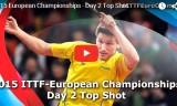 ヨーロッパ選手権2015・2日目トップショット