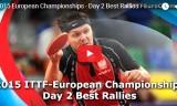 ヨーロッパ選手権2015・2日目ベストラリー