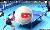 大島祐哉VS張継科(団体)アジア選手権2015