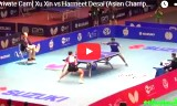 許昕の試合(遠方の映像)アジア選手権2015