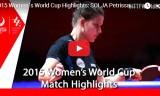 ソルヤVSリージャオ(3決)女子ワールドカップ2015