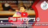 10ショット・スウェーデンオープン2015