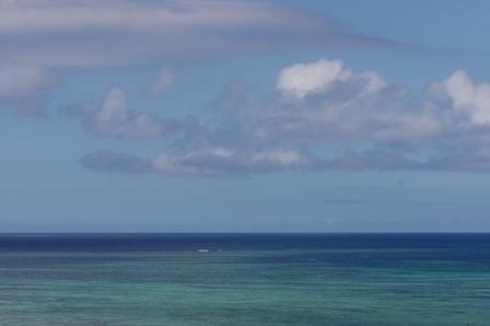 エメラルド緑海10月1日13時50分 P1070697