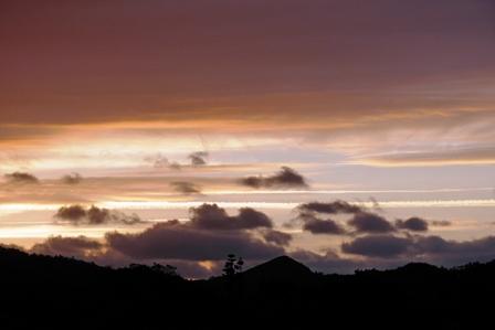 朝焼け雲11月2日6時50分 P1100165
